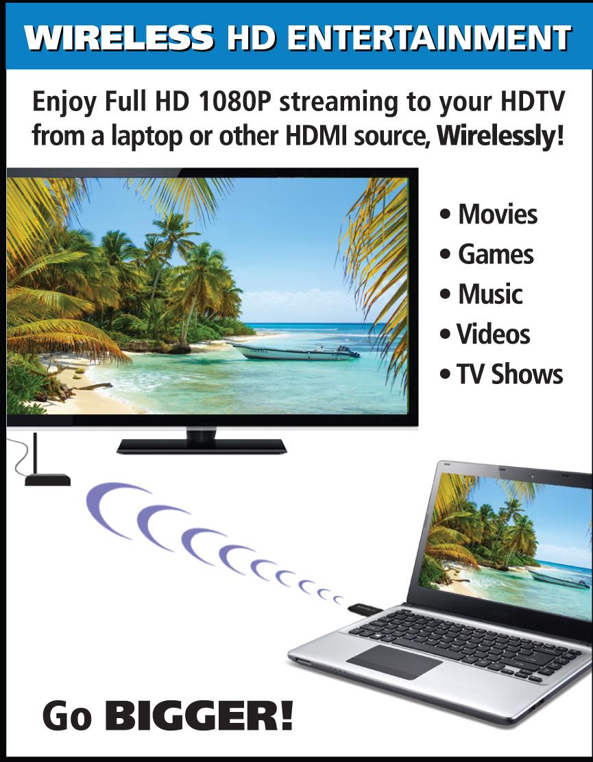 Diamond Wireless VS100 HD Video Transmission via HDMI | Diamond ...